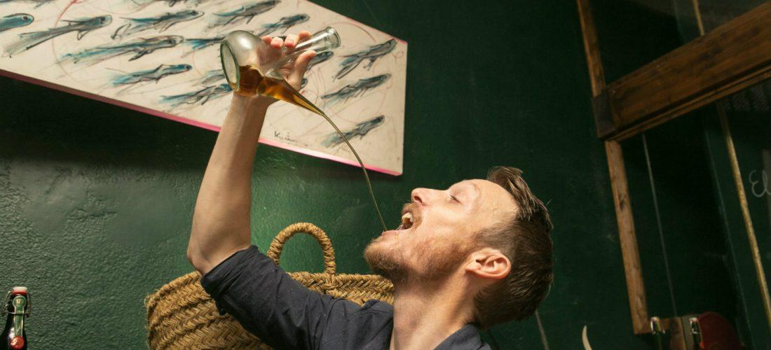 Feeling Brave? Then Try Drinking Wine From The Regional Porron Vessel...